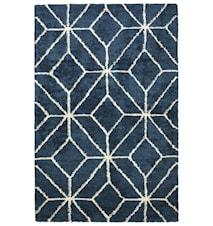 Berber Ayur Matta Ull Vit/Blue Melange 230x320 cm