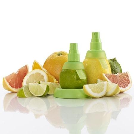Citrusspray 2 st Silikon Grön