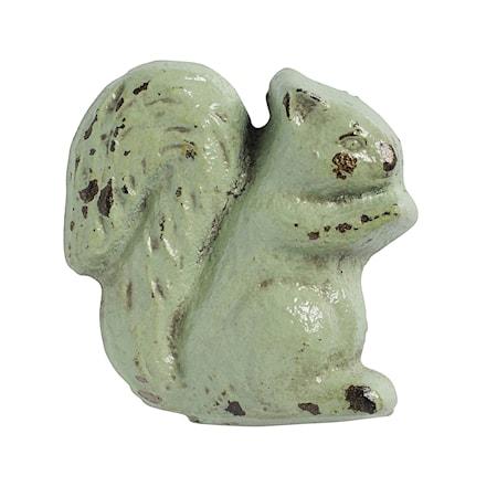 håndtak Ekorn 5x5 cm - Lysegrønn