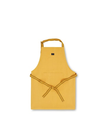 Icons Cotton Canvas Apron Förkläde Gul 80x105cm