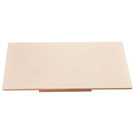Bakebrett i Bøk 75 x 50 x 1,2 cm