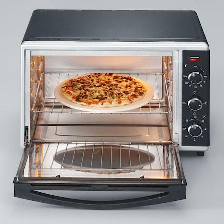 Miniugn med Pizzasten Varmluft 42 L