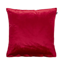 Roma kuddfodral 45x45 - Ruby red