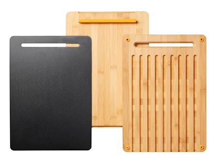 FF Skärbräda i Bambu 3 delar